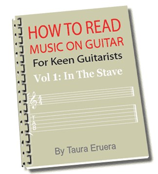 How To Read Music On Guitar  Vol 1 In the Stave