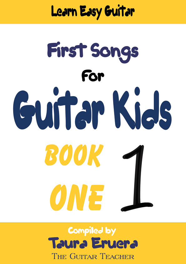 First Songs For Guitar Kids Book Cover
