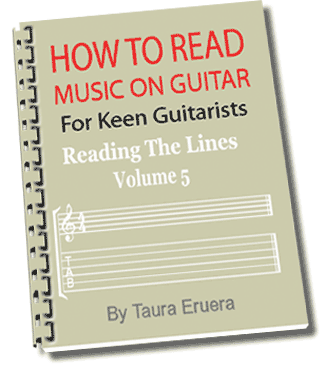 How To Read Music On Guitar Reading The Lines Volume 5
